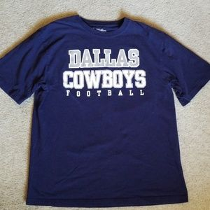Authentic NFL Dallas Cowboys Football Tee - Large